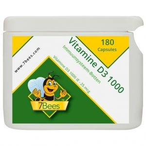 Vitamine-D3-1000-180-capsules-nl-Frontaal