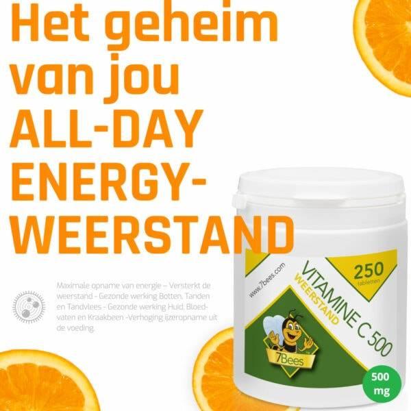 Vitamine-c-500-250-tabletten-7bees-weerstand