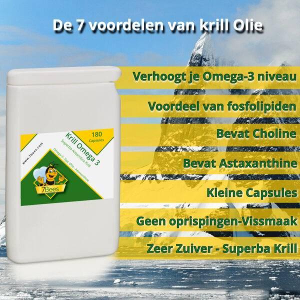 Krill Omega 3 - 7 Voordelen
