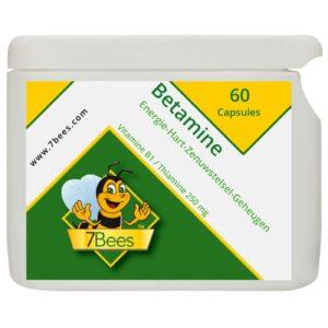 Betamine-Vitamine-b1-60-capsules-NL-Frontaal